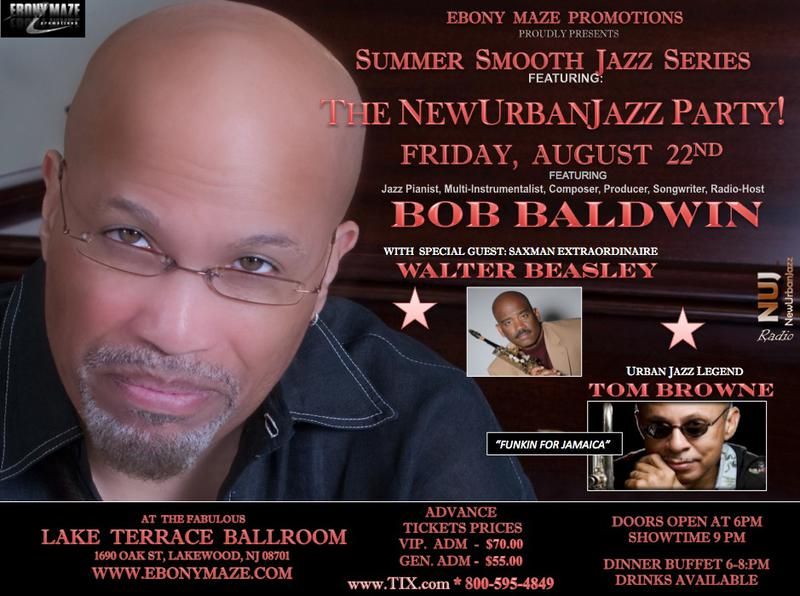 The NewUrbanJazz Party!! Friday, Aug. 22, 2014