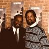 "1992 with the great Grover Washington, Jr., NYC - listening party of ""Time Out of Mind""...Baldwin was arranger on ""Don't Take Your Love From Me"""